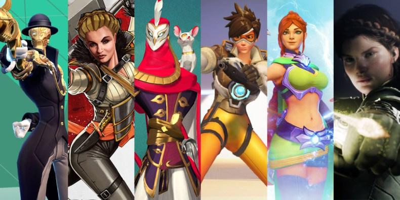 Hero shooters coming out in or around 2016